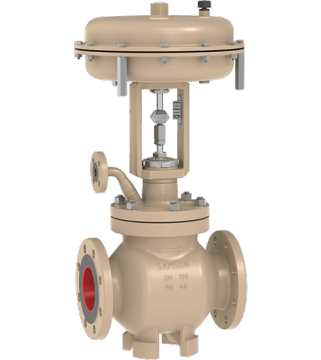 3281 - STEAM CONDITIONING GLOBE VALVE