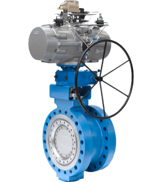 LTR43 - TRIPLE OFFSET BUTTERFLY VALVE